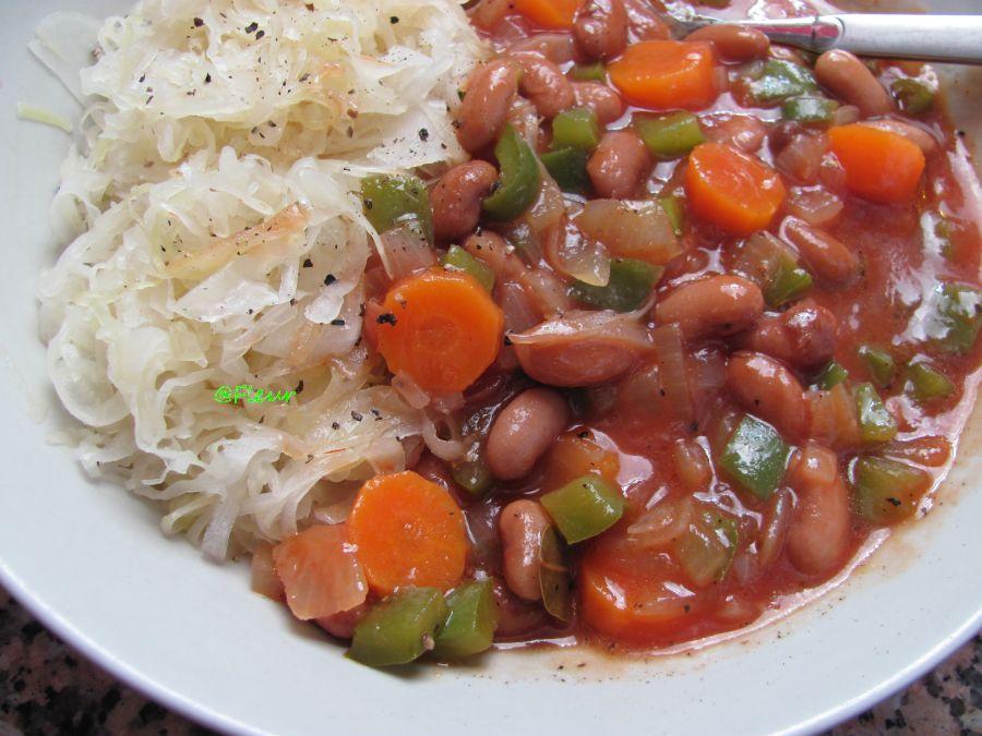 Romanian beans stew