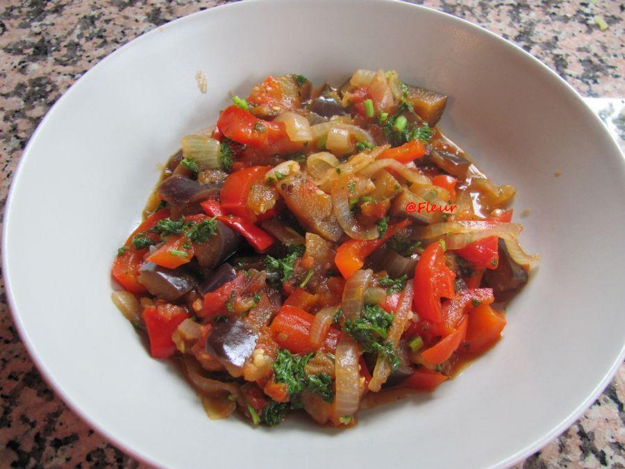 Eggplants stew