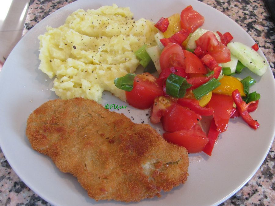 (English) Seitan schnitzel