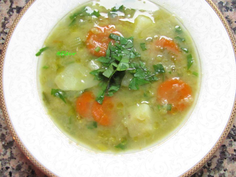 (English) Split peas soup