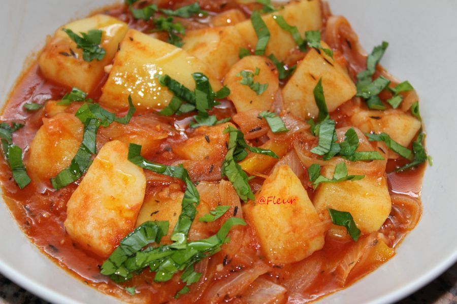 Potatoes stew