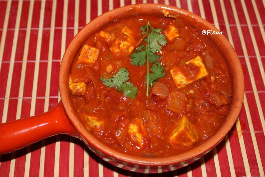 (English) Tofu tikka masala
