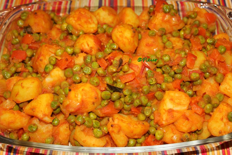 (English) Potatoes masala