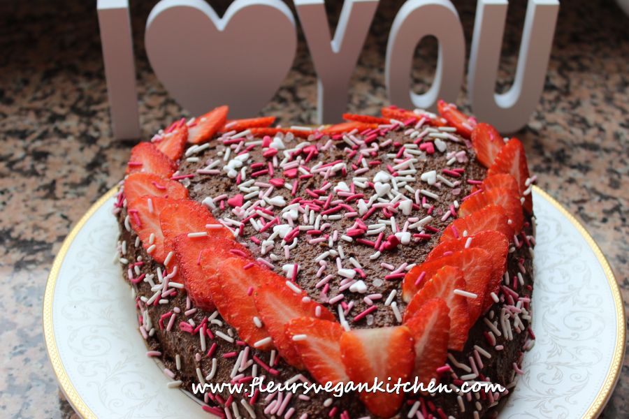 (English) Valentine's day cake
