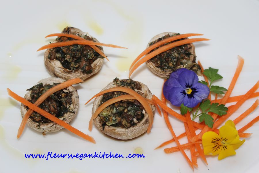 (English) Stuffed mushrooms