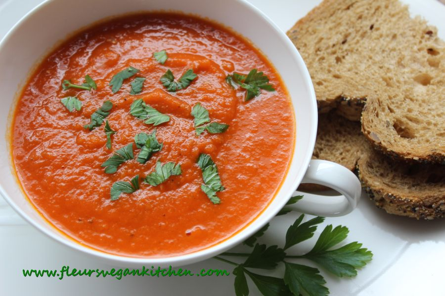 (English) Super easy tomato soup