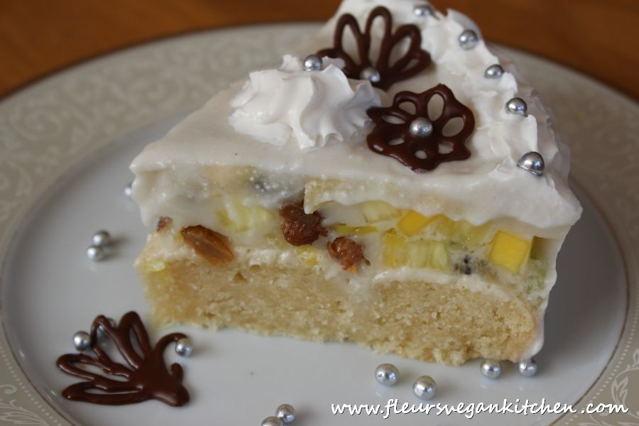 Snow-white cake