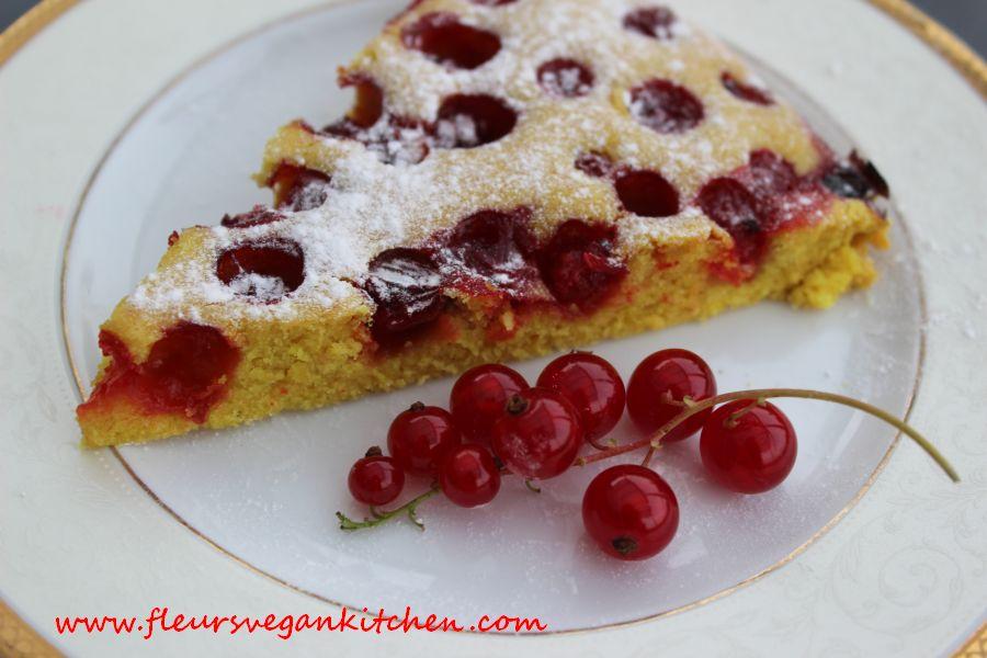 Redcurrant Cake Fleursvegankitchen