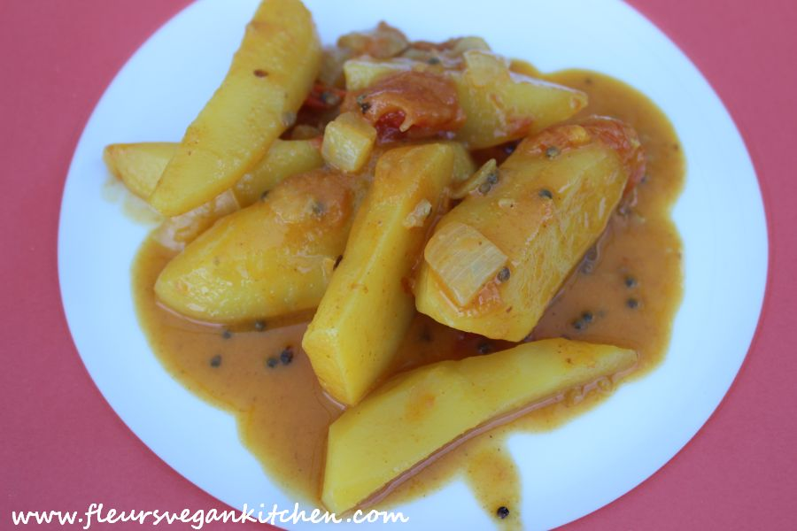 (English) Potato curry
