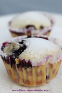 muffin coacaze