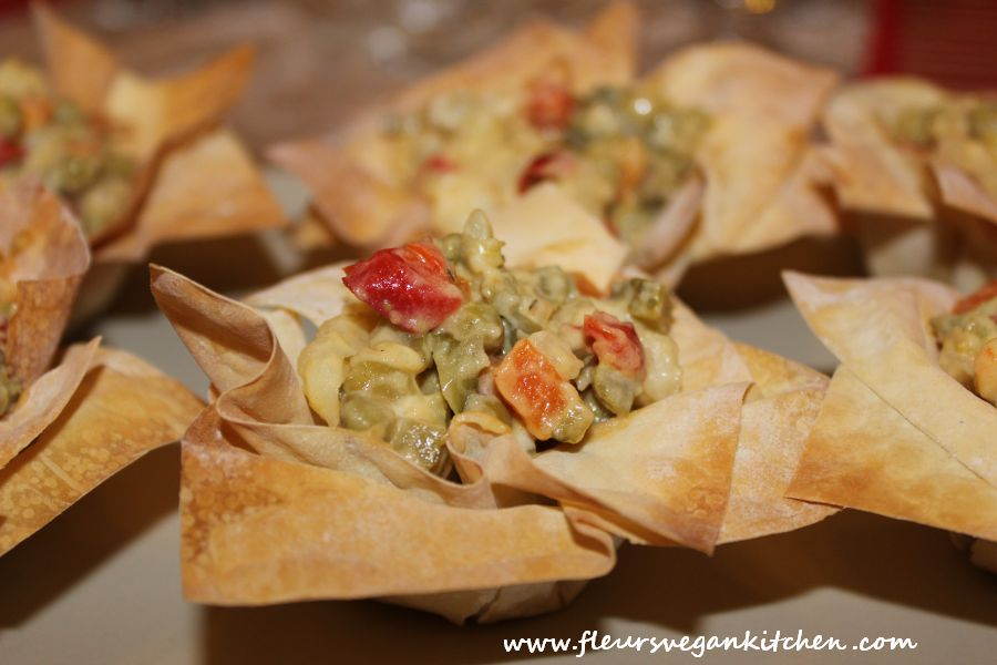 Filo dough baskets