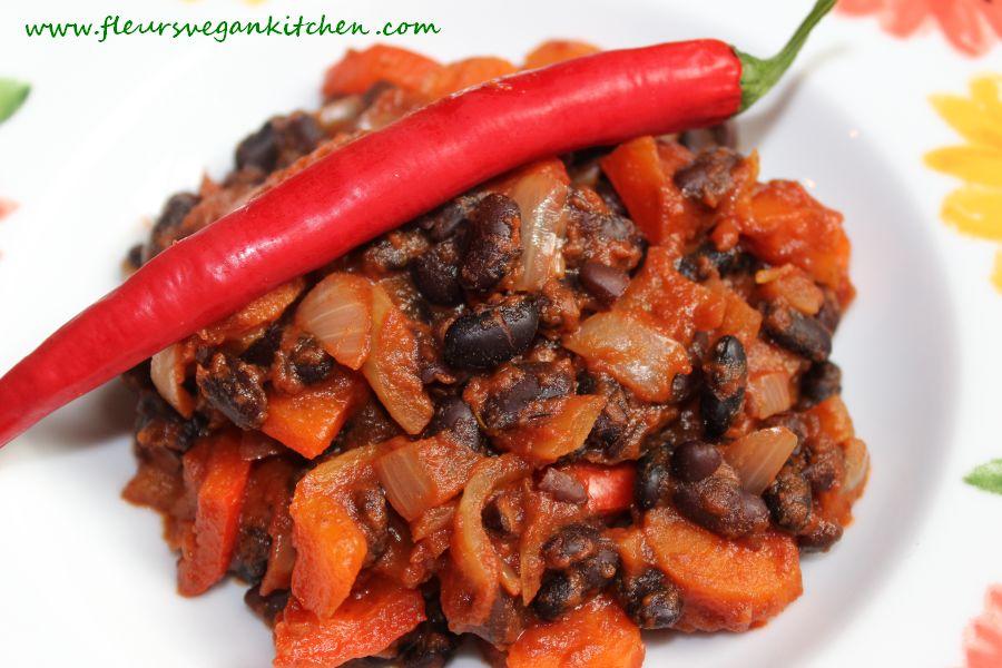 Chili con verduras