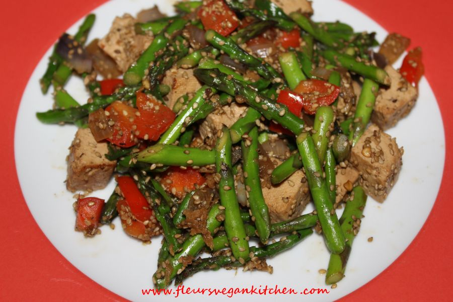 (English) Chinese-style asparagus